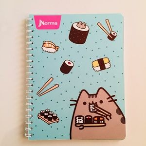 Pusheen the Cat Sushi Kitty Notebook 🍣🍙 NEW!